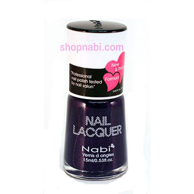 Nabi I Nail Polish no.51 Purple Glitter