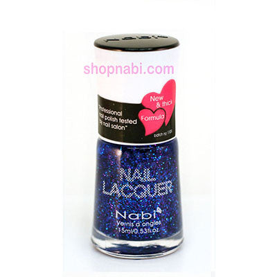 Nabi I Nail Polish no.53 Blue Glitter
