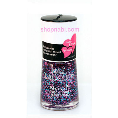 Nabi I Nail Polish no.54 Multi Glitter