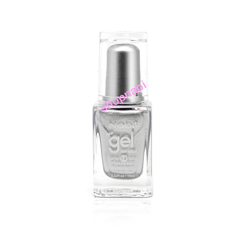 Nabi Gel Nail Polish No.5 Silver