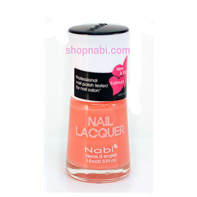 Nabi I Nail Polish no.62 Baby Orange