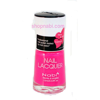 Nabi I Nail Polish no.63 Hot Pink
