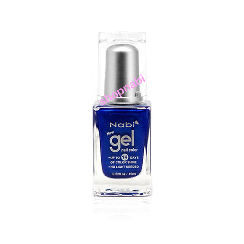 Nabi Gel Nail Polish No.66 Navy Blue