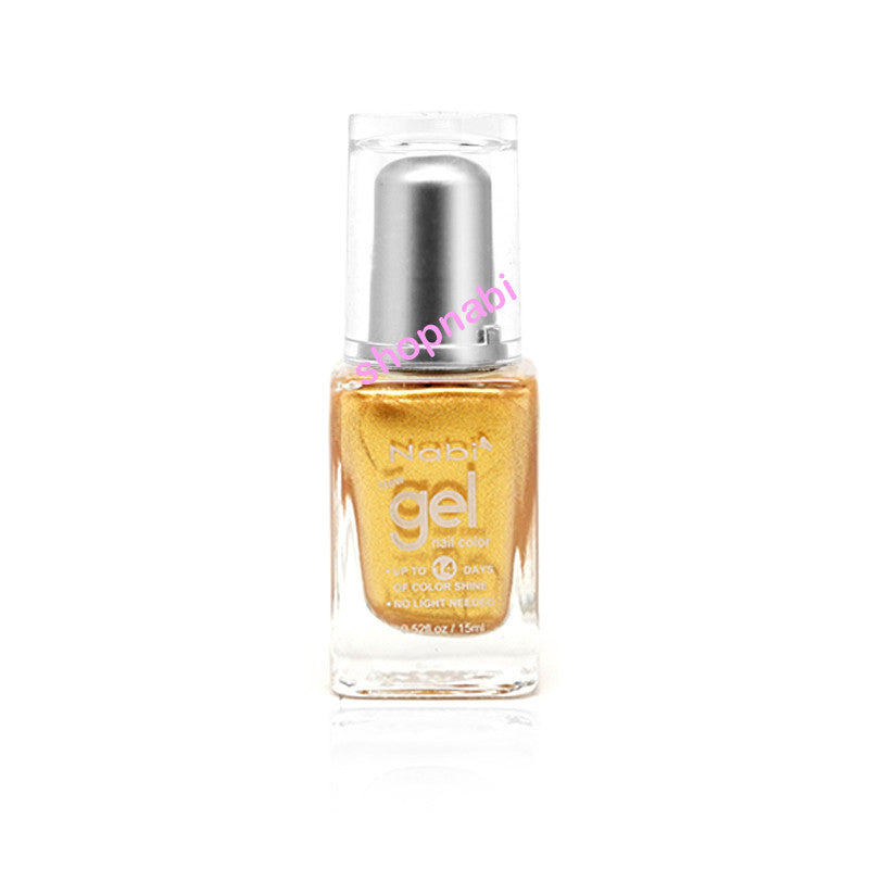 Nabi Gel Nail Polish No.6 Gold
