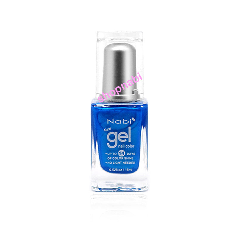 Nabi Gel Nail Polish No.74 Ocean Blue