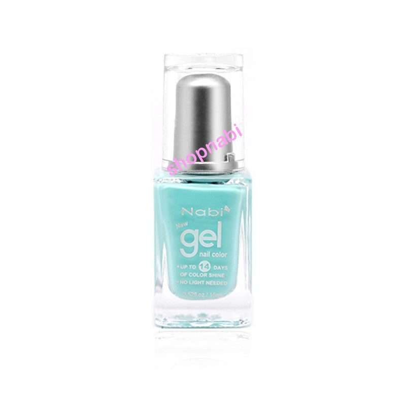 Nabi Gel Nail Polish No.78 Baby Teal