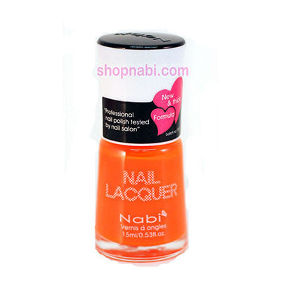Nabi I Nail Polish no.79 Neon Orange