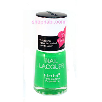 Nabi I Nail Polish no.81 Neon Green