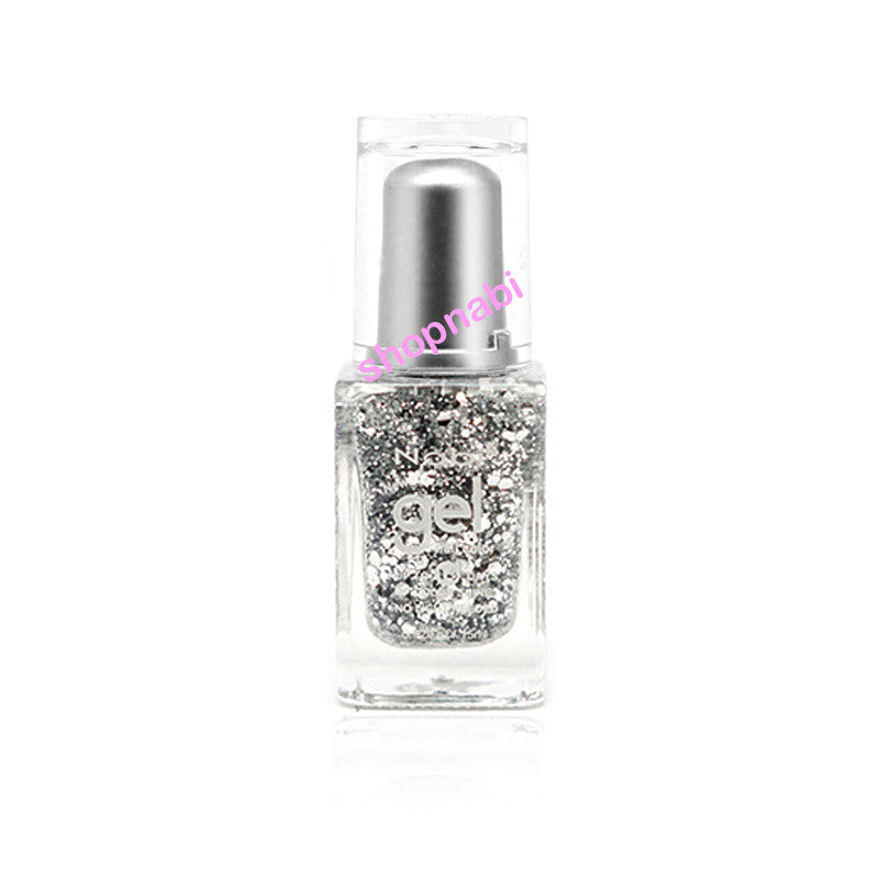 Nabi Gel Nail Polish No.88 Silver Big Ball