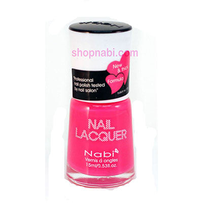 Nabi I Nail Polish no.89 Neon Light Pink