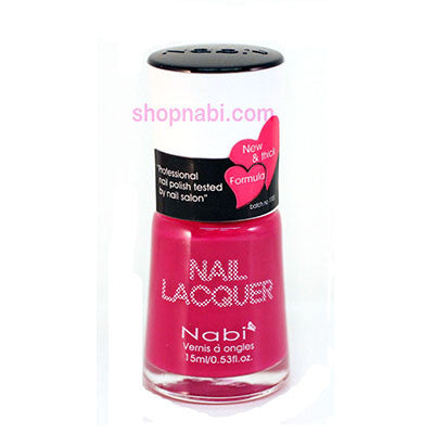 Nabi I Nail Polish no.91 Hot Pink 2