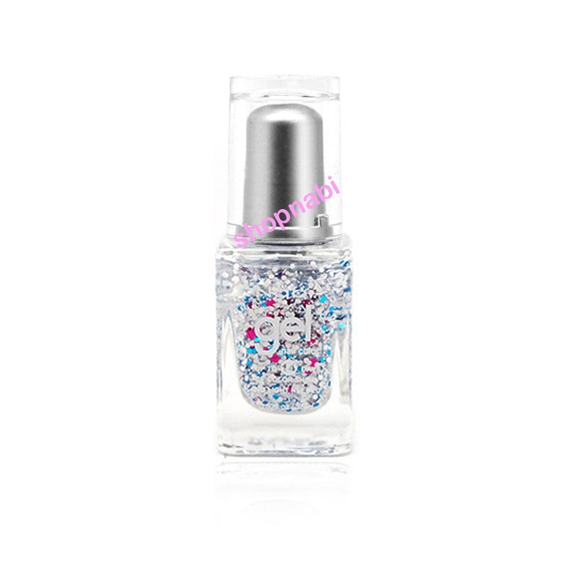 Nabi Gel Nail Polish No.93 Bright Pink Flake