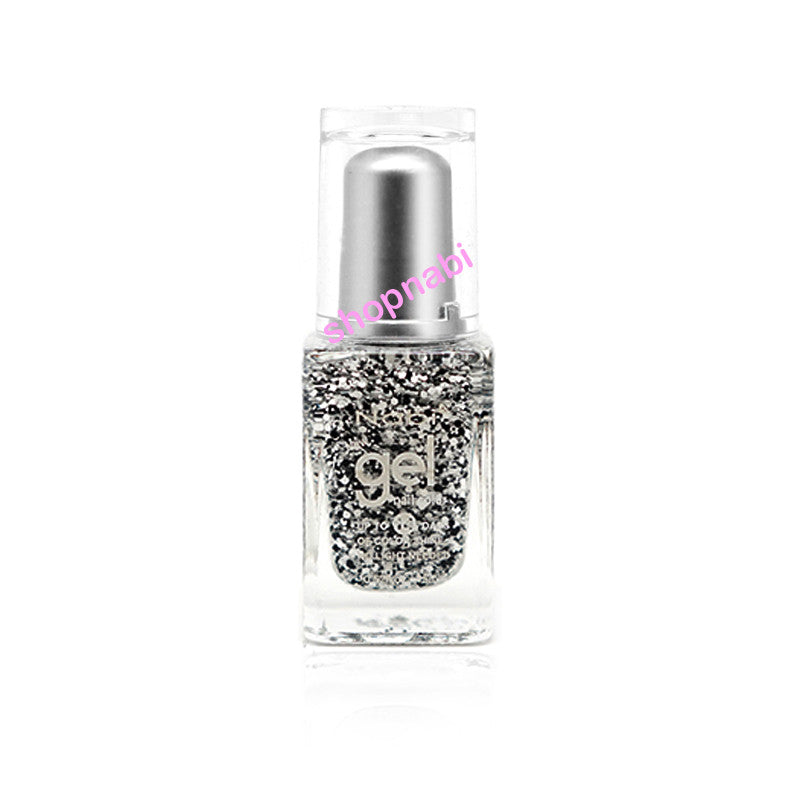 Nabi Gel Nail Polish No.95 Black Flake