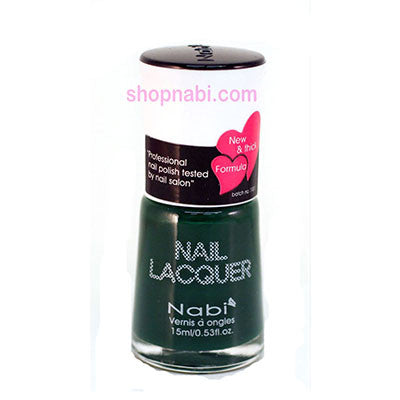 Nabi I Nail Polish no.96 Dark Green