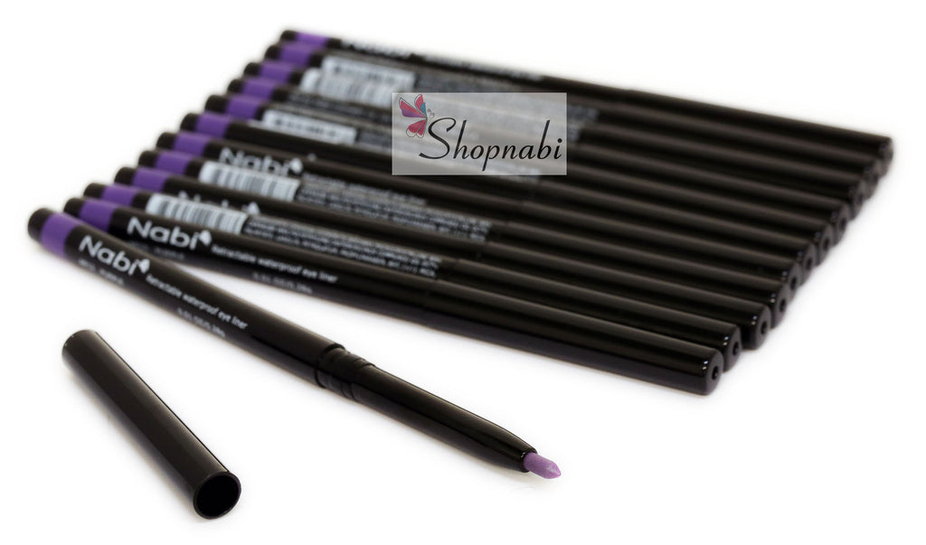 Nabi Retractable Waterproof Eyeliner no.12 Purple