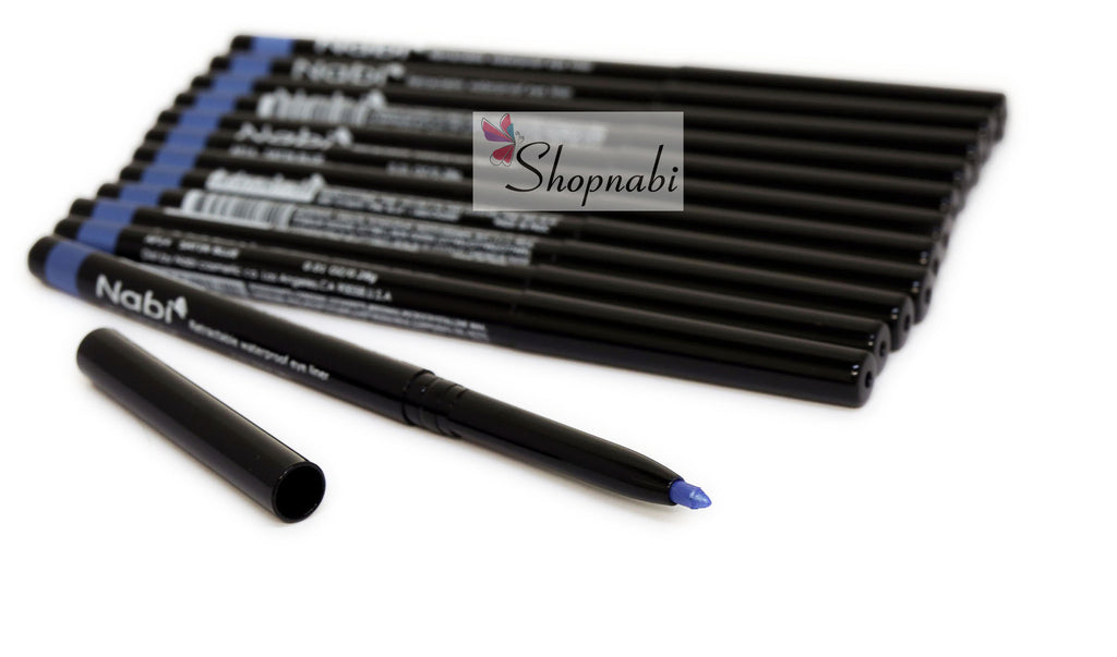 Nabi Retractable Waterproof Eyeliner no.14 Satin Blue