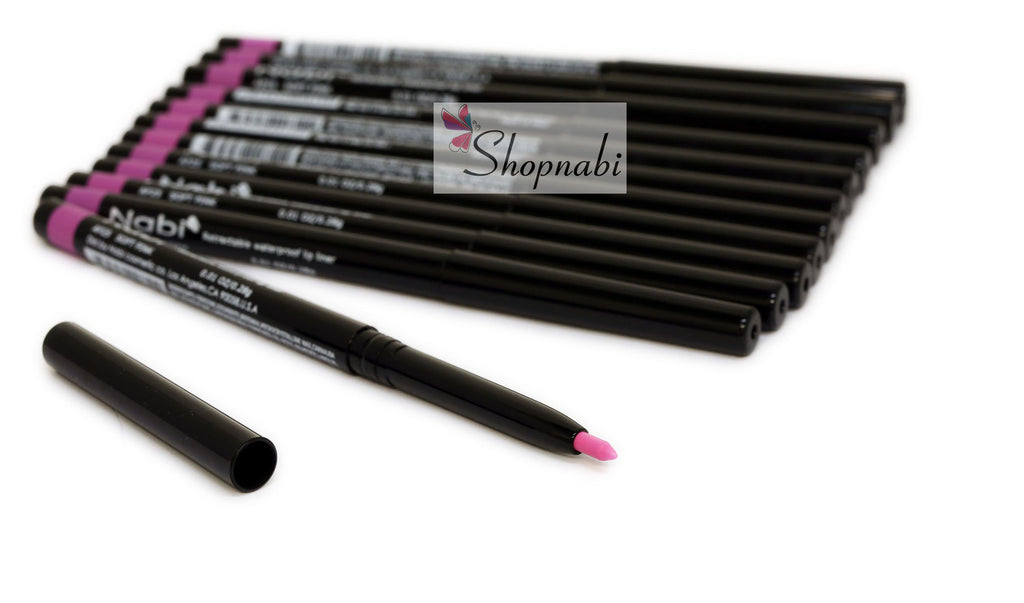 Nabi Retractable Waterproof Eyeliner no.25 Soft Pink
