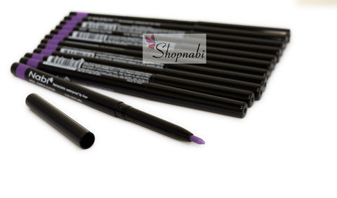 Nabi Retractable Waterproof Eyeliner no.33 Purple Glitter