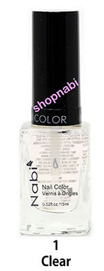 Nabi V Nail Polish no.1 Clear