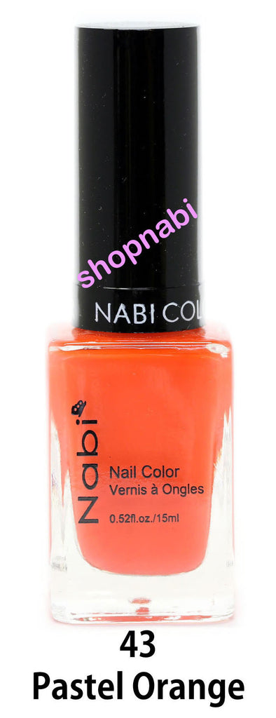 Nabi V Nail Polish no.43 Pastel Orange
