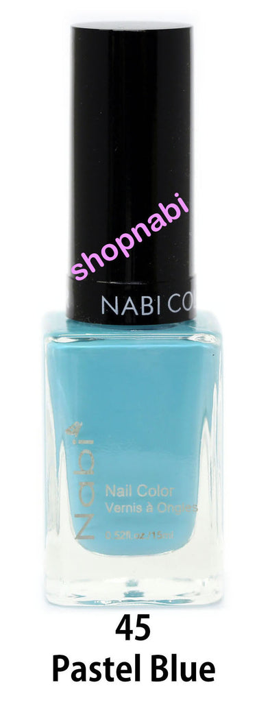 Nabi V Nail Polish no.45 Pastel Blue