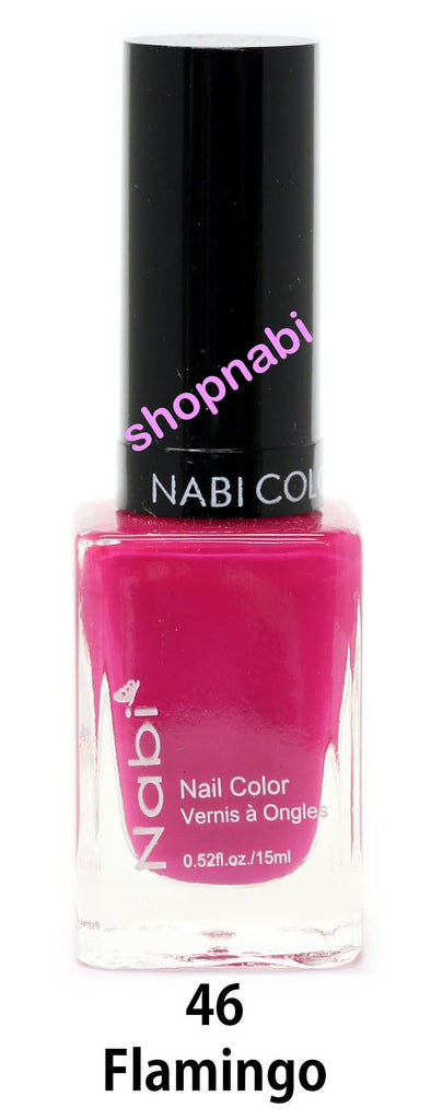 Nabi V Nail Polish no.46 Flamingo