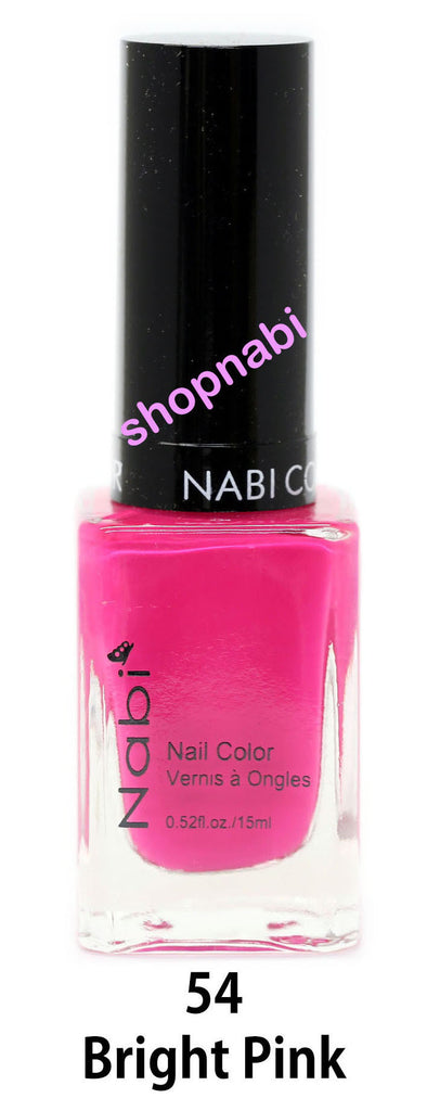 Nabi V Nail Polish no.54 Bright Pink