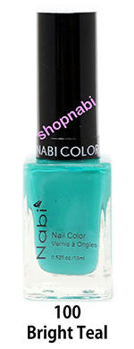 Nabi V Nail Polish no.100 Bright Teal