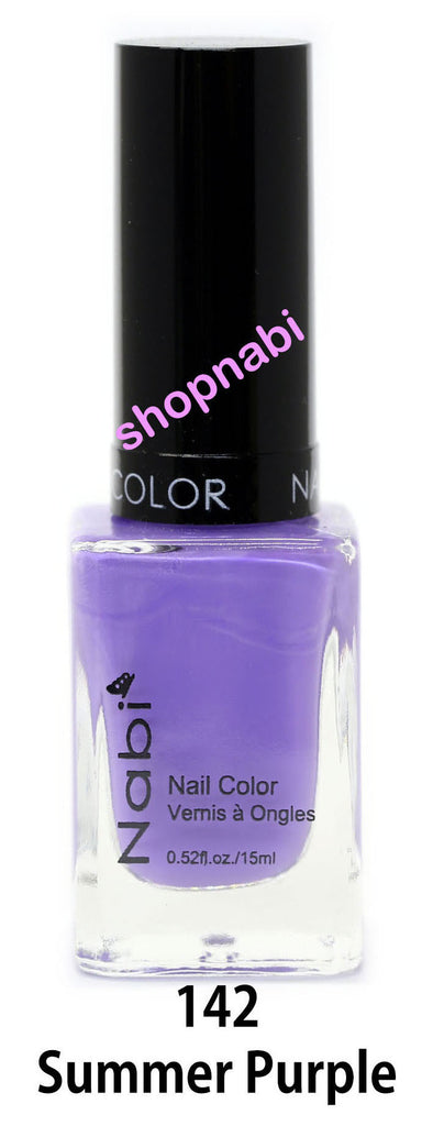 Nabi V Nail Polish no.142 Summer Purple