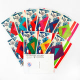 Postcard Diamond Kite Collection