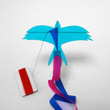 kite swallow blue