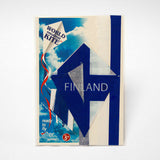 kite flag finland in bag