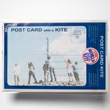 kite flag united kingdom postcard