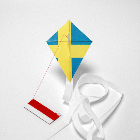 kite flag sweden