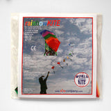 10 rainbow coloured KITES on one string pack