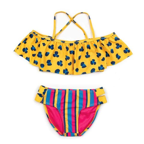 Appaman Coco Bikini Set cheetah