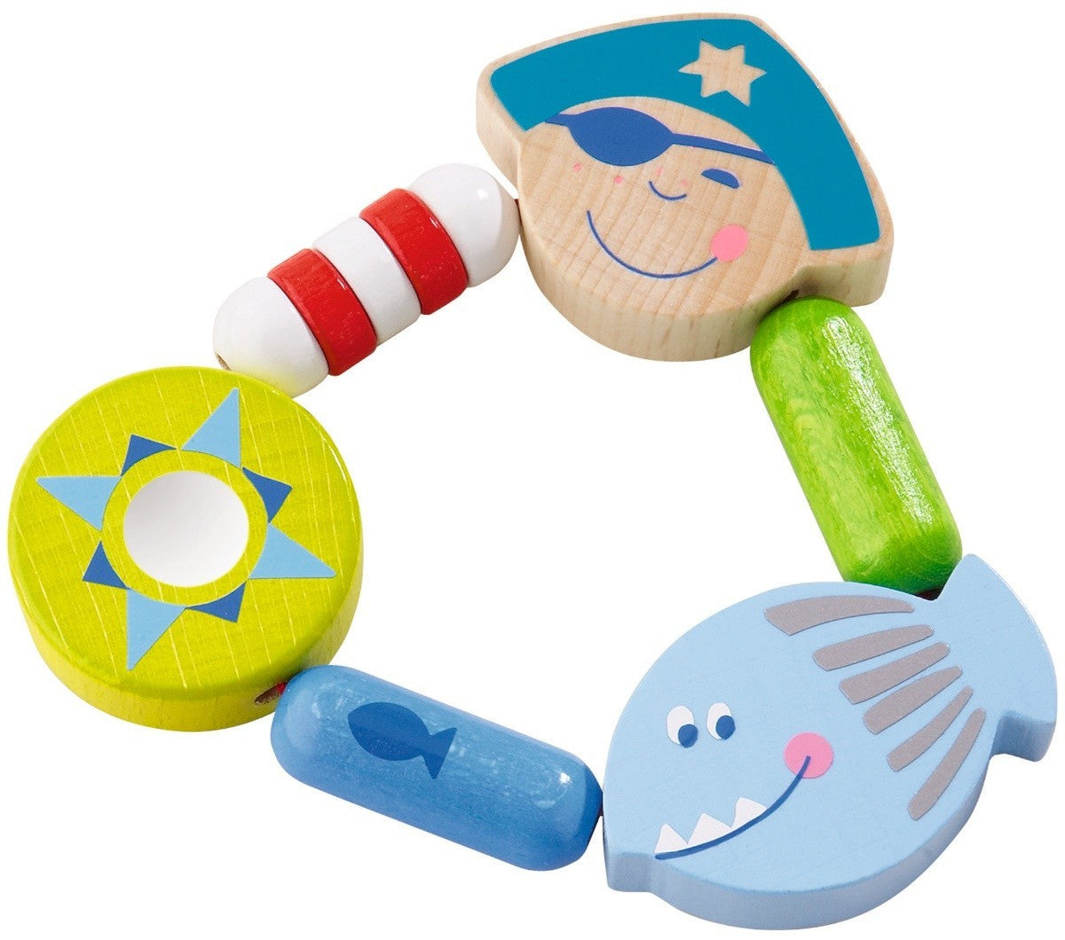 Haba Buccaneer Bill Cluthing Toy