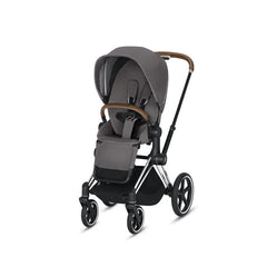 Cybex Priam  Chrome Brown with Lux Seat