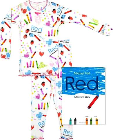 "Books To Bed ""Red"" A Crayons's Story"