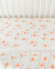 Little Unicorn Percale Crib Sheet