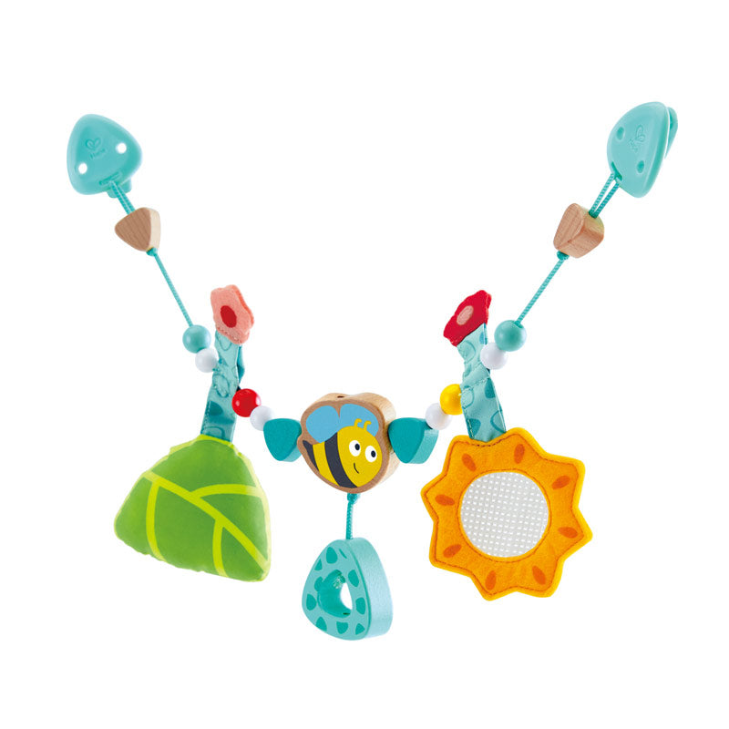 Hape Bumble bee Pram Rattle