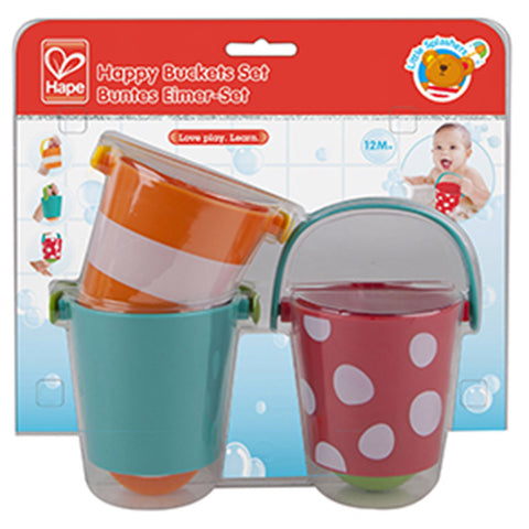 Hape Buckets Set