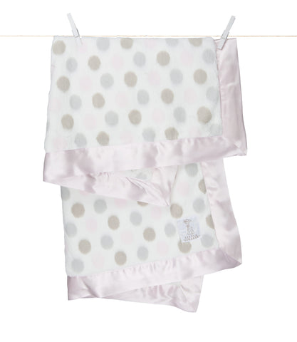 Little Giraffe Luxe Dot Blanket