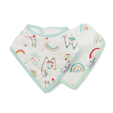 Loulou Lollipop Muslin Bib Set