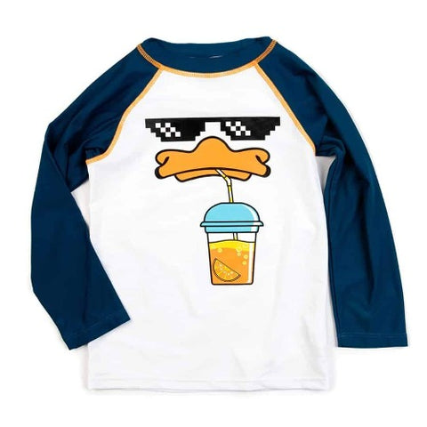 Appaman Rush Guard Long Sleeves Sipping Duck