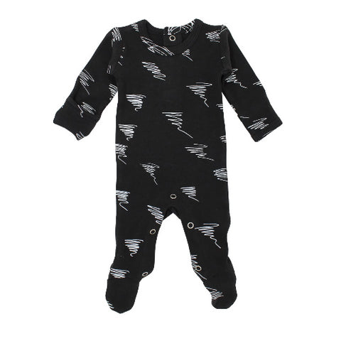 L'ovedbaby Back / Snap Footed Overall