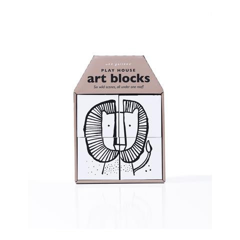 Wee Gallery Play House Art Blocks