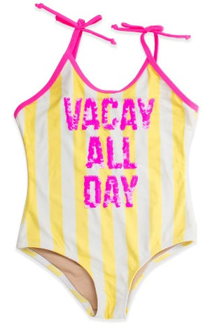 Shade Critters Sequin One Piece Vacay All Day