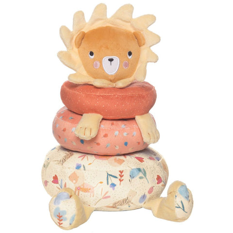 Manhattan Toy Safari Lion Plush Stacker