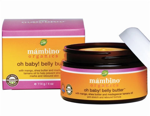 Mambino Organics Belly Butter